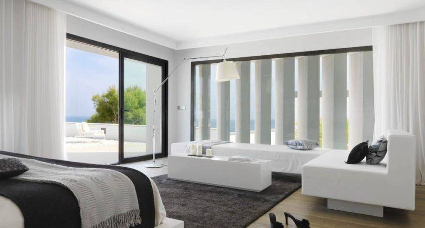 White Bedroom Design Modern House Decorating Inspiration