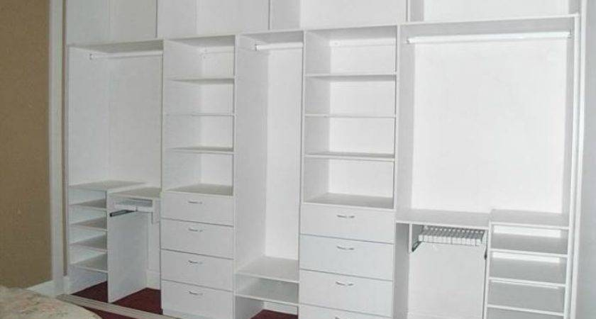 White Built Wardrobe Design