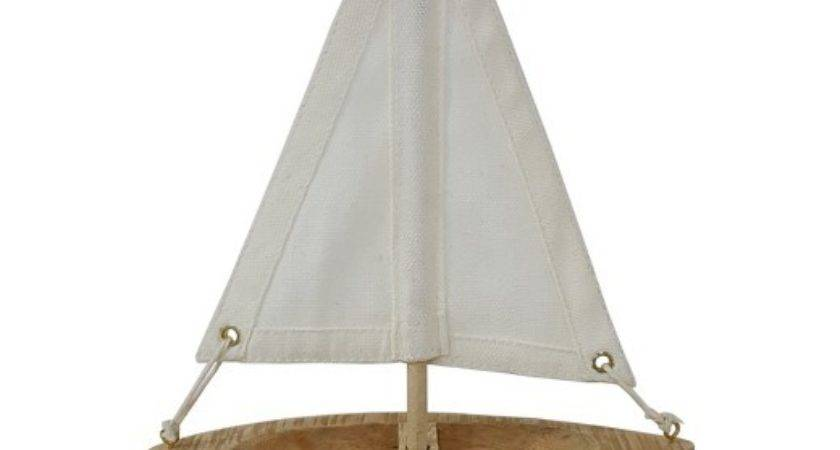 White Canvas Red Wooden Boat Cor Threshold Target