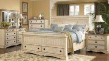White Country Style Bedroom Furniture Collections