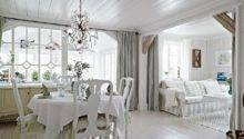 White Cozy Country Home Sweden Interior Design Files