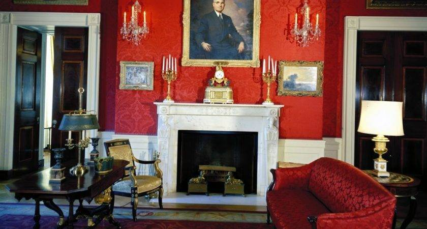 White House Rooms Blue Green Red John