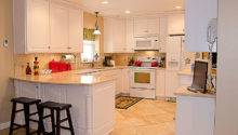 White Kitchen Setup Vogl Woodworking