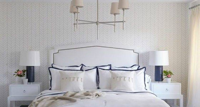 White Master Bedroom Makeover Inspiration Pencil