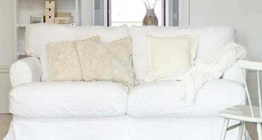White Sofa Covers Your Set Looks Exceptional Home