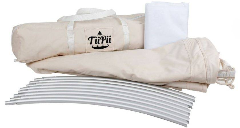 White Tiipii Floating Bed Mosquito Heavenly