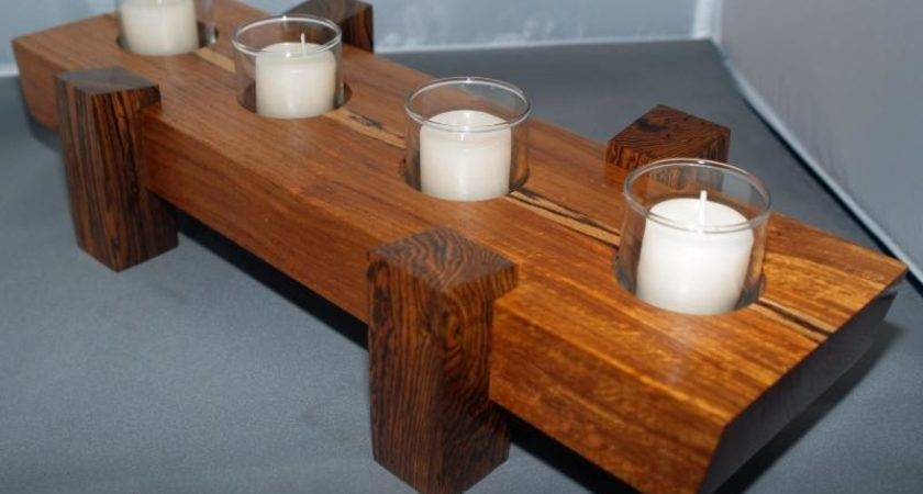 Why Wood Candle Holder Best Decors