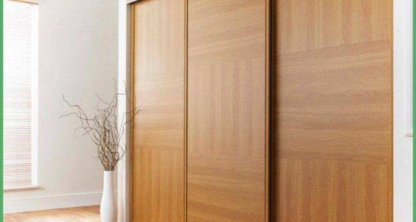 Wooden Sliding Wardrobe Doors Interior Home Decor