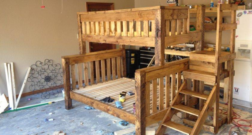 Woodwork Extra Long Twin Over Queen Bunk Bed Plans Pdf