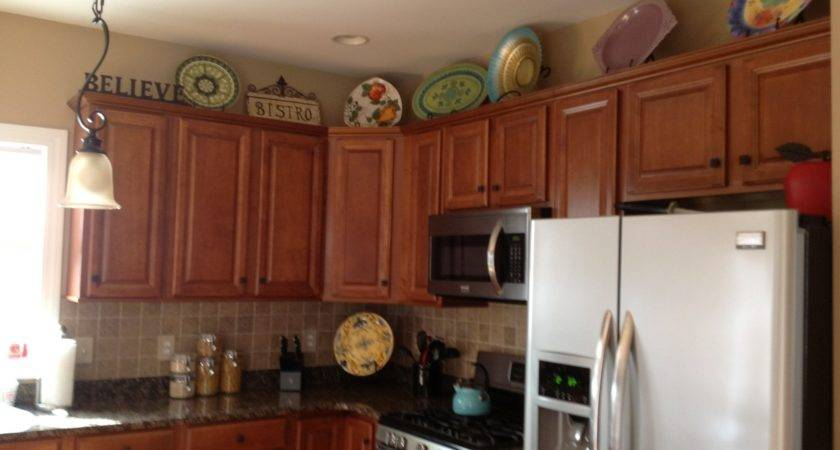 Wow Top Kitchen Cabinet Decorating Ideas Upon