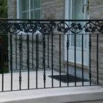 Wrought Iron Railings Rail