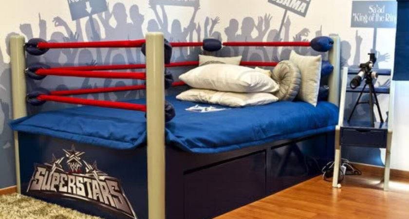 Wwf Wrestling Bed Dave Geeky Ideas
