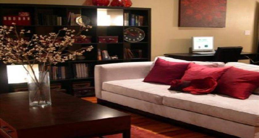 Yellow Black Red Living Room Ideas