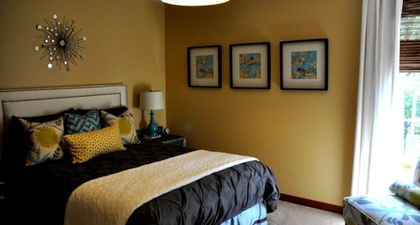 Yellow Blue Bedrooms Design Ideas