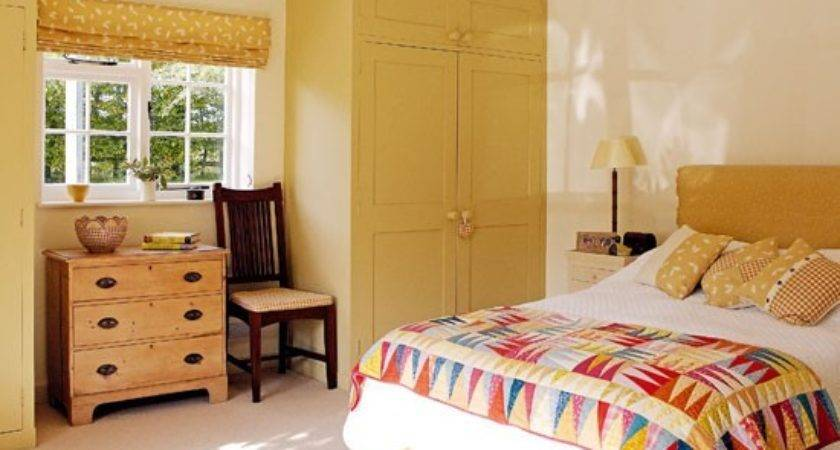 Yellow Ochre Bedroom Decorate