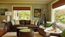Yellowish Color Schemes Living Room Decorative