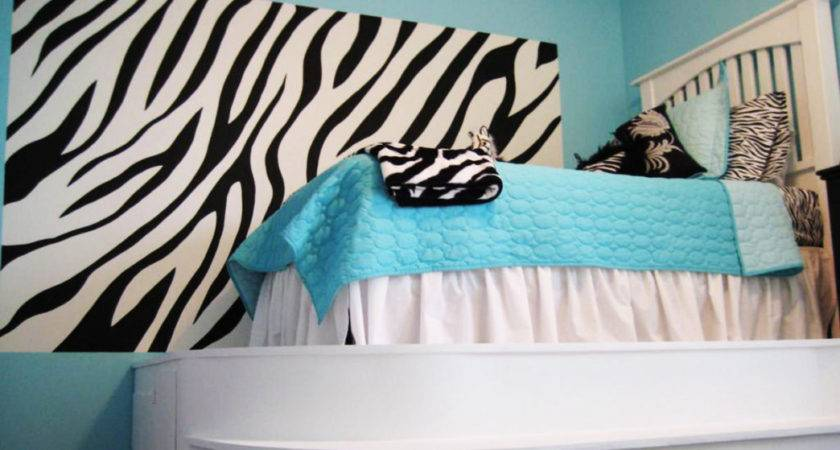 Zebra Print Bedrooms Mens Bedroom Interior